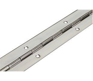 1016mm X 50mm X 1.2mm Stainless Continuous Hinge (Natural)