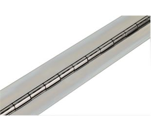 1016mm X 63mm X 2mm Stainless Continuous Hinge (Natural)