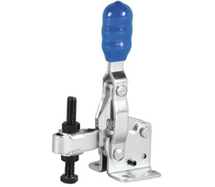 Toggle Clamp Vertical Action Adjustable Bar Stainless Steel (Natural)